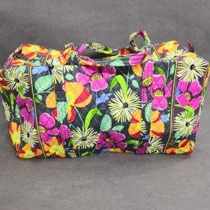 NWT Vera Bradley Large Duffel Travel Jazzy Blooms